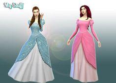 Ariel dress 💕 the sims Sims 4 Game Mods, Sims Mods, Slimming World, Sims 4 Studio, Ariel Dress, Sims 4 Cc Skin, Sims4 Clothes, Sims 4 Dresses, Disney Princess Dresses