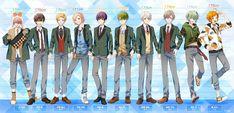 Anime Guys, Manga Anime, Kawaii Anime, Game 1, Boys, Cards, Twitter, Outfit, Baby Boys