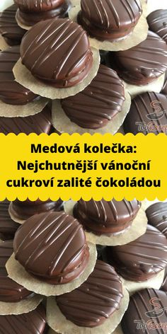 Christmas Sweets, Christmas Candy, Christmas Baking, Xmas, Czech Recipes, Baking Recipes, Food And Drink, Pudding, Cookies