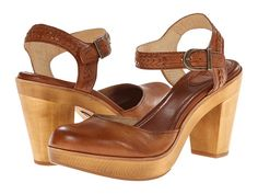 Frye Jessie Bohemian Two Piece Brown Smooth Vintage Pull Up - Zappos.com Free Shipping BOTH Ways