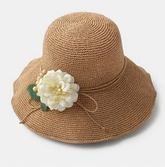 Elegant flower straw hat for women package sun hats