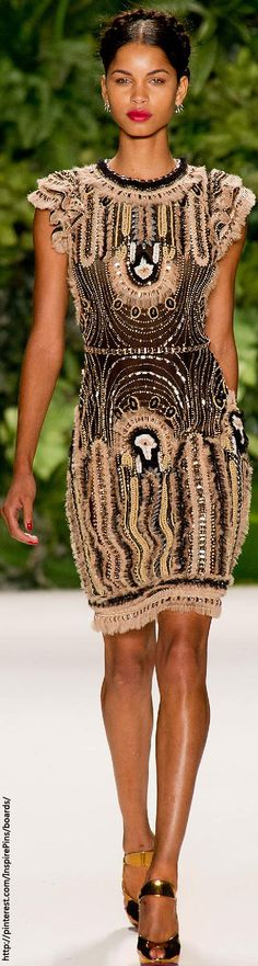 Spring 2014 RTW Naeem Khan Collection         WF