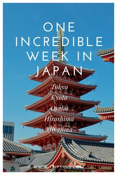 Heading to Japan anytime soon and have a week to spare for your trip? Instead of listing out a 7 day Japan itinerary, this guide will help you build your own itinerary based on your own preferences. Tokyo Japan Travel, Japan Travel Guide, Asia Travel, Travel Guides, Japan Trip, European Travel, Travel Tips, Osaka Itinerary, Day Trips From Tokyo