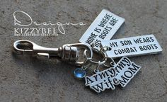 www.kizzybeldesigns.com Like us on Facebook: www.facebook.com/kizzybeldesigns #military #militaryjewerly #support #homecoming #supportjewelry #createyourown #jewelry #kizzybeldesigns #customjewelry #army #navy #marine #charms #airforce #militarycharms #armykeychain #nametape #magnets #bottlecaps #ricejewelry #nametapebracelets #bracelets #necklaces #bellyrings #keychains #keyrings #customnametapes #cutejewelry #uniquejewelry #customdesigns #custom #handmade #gifts #customjewelry #deployment
