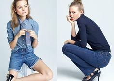 J.Crew 2012 Fall Womens Denim Collection: Designer Denim Jeans Fashion: Season Collections, Runways, Lookbooks, Linesheets & Ad Campaigns