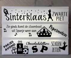 "Lightbox stroken ""Sinterklaas"" - LeukCadeautje.com"