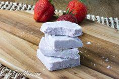 Strawberry Coconut Fudge made sugar free and low carb!: Low Carb Sugar Free Strawberry Coconut Fudge