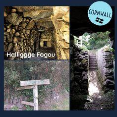 Mysteriöses Tunnelsystem - Halliggye Fogou! Das Fogou von Halliggye (5./4. Jh. v. Chr.) ist ein unterirdisches eisenzeitliches Gangsystem. Es besteht aus einem Netz unterirdischer Gänge, Kammern & Nischen. Halligye ist eines der größten und am besten bewahrten Fogous. Die Wände bestehen teilweise, die drei Portale und die Decke vollständig aus Megalithen und Steinplatten. Funktion bisher unbekannt, evtl. Fluchtraum oder Vorratskammer. #ArchaeologicalRoadtrip #travel #OutOfOffice #Cornwall Cornwall, Portal, Road Trip, Crafts, Flagstone, Butler Pantry, Mesh, Manualidades, Road Trips