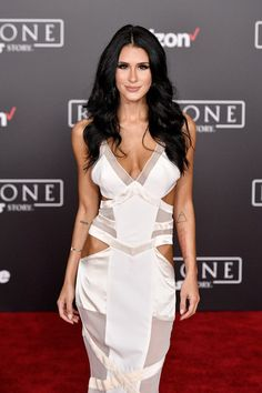 fc5b498040 Comedian Brittany Furlan attends the premiere of Walt Disney Pictures and  Lucasfilm s  Rogue One