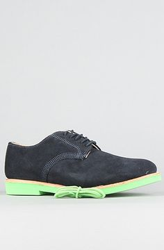 Walk-Over Shoes The MADE IN THE USA Derby 100s Buck Shoe in Navy Suede : Karmaloop.com - Global Concrete Culture