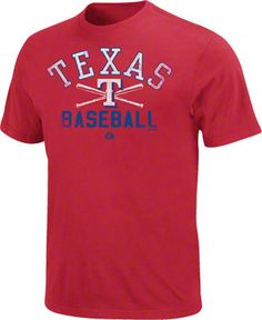 Texas Rangers Red Athletic City Modern Fit T-Shirt