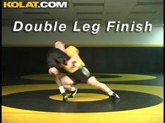 Double Leg Takedown KOLAT.COM Wrestling Moves Techniques Instruction
