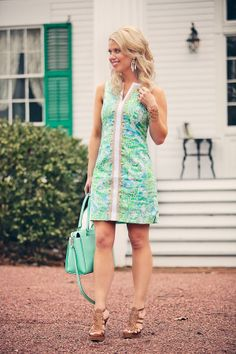 Lilly Pulitzer Janice Shift Dress worn by @Edi Taylor by Lauren