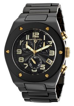 Shop for Swiss Legend Men's 'Throttle' Black Ceramic Watch. Get free delivery On EVERYTHING* Overstock - Your Online Watches Store! Luxury Watches For Men, Casio Watch, Tech Accessories, Chronograph, Omega Watch, Mens Fashion, Fashion Design, Group, Modern