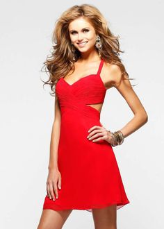 The Perfect Valentine's Day Dress! Cute and sexy little red dress!