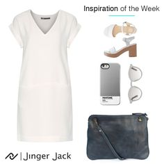 New Years Look, Cotton Thread, Pantone, Leather Backpack, Summer Outfits, Navy Blue, Ootd, Inspiration, Fashion