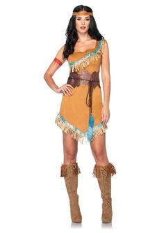 Check out these DIY Pocahontas costume ideas and channel the free spirit within.