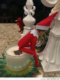 Lol elf on the shelf