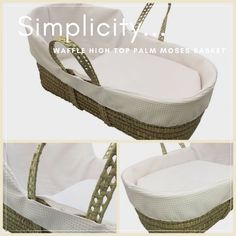 Have you seen the Simplicity Waffle High Top yet? For the minimalist parents out there :) http://www.clair-de-lune.co.uk/buy/simplicity-waffle-high-top%C2%AE-palm-moses-basket_857.htm #whatsnewwednesday