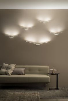 LED polycarbonate wall light WINGS by Linea Light Group design Edin Dedovic @linealightgroup
