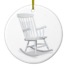 OVER THE HILL OR ROCKING CHAIR ORNAMENT