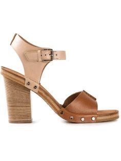 MARC by Marc Jacobs | MARC BY MARC JACOBS chunky heel sandals #marcbymarcjacobs #chunkyheel #sandals