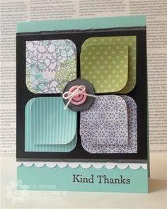 pretty flower card