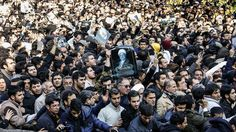 Iranian reformists on Tuesday turned the funeral of former President Akbar Hashemi Rafsanjani into