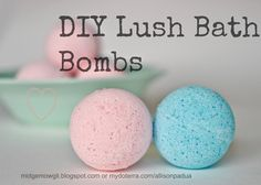 """Midge+mowgli: DIY Bath Bombs --->made and drying on the counter; so far so good! Only makes about 3 1/2 bombs 3"""" across. So far all the ones tested sink. Not enough cornstarch?"""