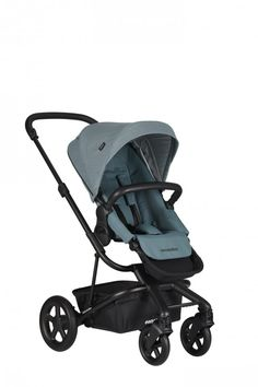 Easywalker Stroller Harvey 2 2020 coral green - Buy at kidsroom Double Strollers, Baby Strollers, Single Stroller, Travel System, Baby On The Way, Folded Up, That Way, Little Ones, In The Heights