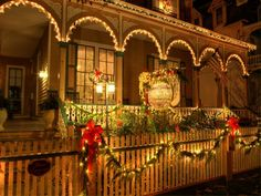 Christmas Candlelight House Tour, Cape May, New Jersey ...