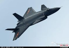 Chinese J-31 Advanced Fighter Aircraft