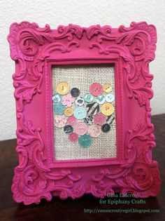 Create a shape with custom buttons with the #epiphanycrafts Button Studio Tools. www.epiphanycrafts.com #DIY #buttons