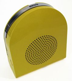 eBay watch: 1960s Phono Boy 7-inch portable record player by Dario and Mario Bellini