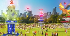 POKEMON GO egg Raids have returned on the same day that fans took on the first public Legendary Mewtwo boss battles. The Pokemon Go Raid structure appears Masters, Pokemon Go Cheats, Pikachu, Online Magazine, Go Game, Singles Online, Public Display, New Pokemon, Play Pokemon