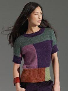 Neefa   Design: Marie Wallin   Neefa er strikket i Lima fra Rowan. På pinde nr. 4-4½mm Kval:  84% baby alpaca 8% merino uld 8% nylon