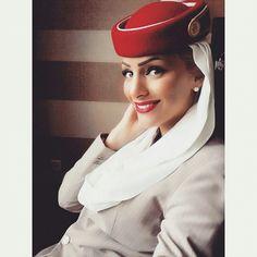 Emirates stewardess crewfie @_mimi_86_