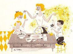 The Retro/Vintage Scan Emporium: Retro illustrations
