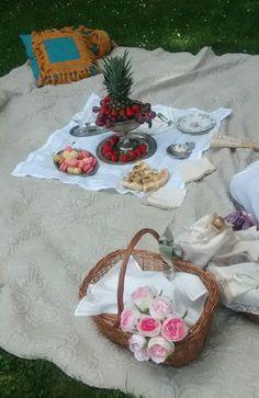 Baroque picnic at the Villa Reale di Monza.