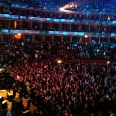 Box at the Royal Albert Hall for Paul Weller. Not bad!