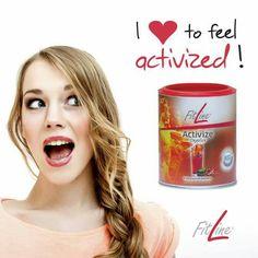 Activize ile güne enerjik başlamak süper #activize #fitline