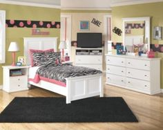 Bostwick Shoals Twin Panel Bed By Ashley Homestore White