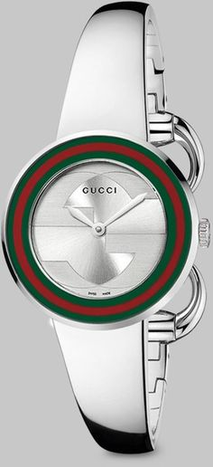 Gucci U-play Stainless Steel Watch.