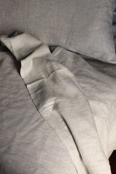 Natural linen bedding;  We've slept on linen sheets for about 10 years now and we are not turning back.