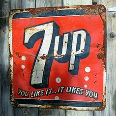 Old 7up Sign