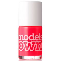 Models Own Nail Polish-Pink Punch. 365 php over pins Red Nail Polish, Nail Polishes, Pink Punch, Nails Inc, China Glaze, Nail Care, Essie, Tropical, Models