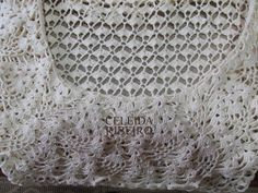 Celeida Ribeiro: Vestido de crochet!!