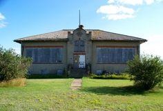 Manitou School :located beween Stanley and White Earth.... GhostsofNorthDakota.com