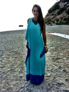 Ibiza style. Party dress