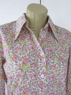 Marilyn Moore With Love, Liberty s Felicite ditsy floral cotton lawn shirt UK12